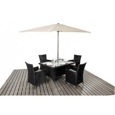 Port Royal Prestige Rectangle dining set from £599.00 with FREE delivery!
