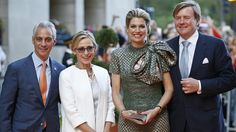 Mayor and Mrs Rahm Emanuel and King Willem Alexander & Queen Maxima visits Chicago
