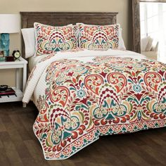 Alcott Hill Freemansburg 3 Piece Quilt Set & Reviews | Wayfair