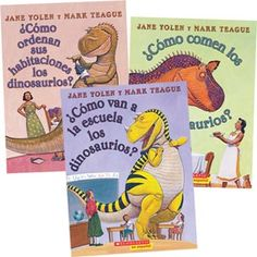 How Do Dinosaurs…? 3 Book Set In Spanish