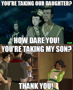 Haha man, parents have changed! | Then and Now | The Last Airbender | The Legend of Korra | Avatar