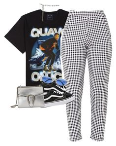 """Talk To Me Nice "" by blacklegends on Polyvore featuring Vans, Jean-Paul Gaultier and Gucci"