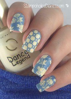 Dance Legend 324, Mundo de Unas Blue Gray, Apipila P7 StampoholicsDiaries.com