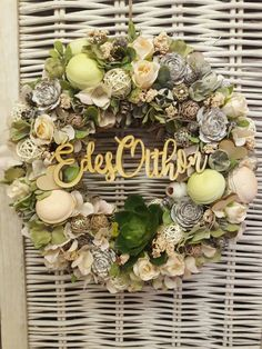 Topiary, Diy And Crafts, Floral Wreath, Wreaths, Spring, Creative, Green, Home Decor, Home Decorations
