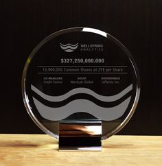 Financial tombstones and deal toys are enduring symbols of your efforts and shared successes. Browse our collection of classic financial tombstones here. Glass Awards, Crystal Awards, Tombstone Designs, Employee Awards, Personalized Plaques, Trophy Design, Custom Awards, Recognition Awards, Photo Studio