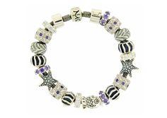 Moress Stackable Purple Stone & Starfish Bracelet Starfish Bracelet, Charm Bracelets, Cuffs, Stone, Purple, My Style, Jewelry, Bracelets, Rock