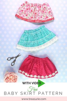 Easy Baby Sewing Patterns, Peasant Dress Patterns, Baby Girl Dress Patterns, Baby Clothes Patterns, Skirt Patterns Sewing, Pattern Sewing, Coat Patterns, Mccalls Patterns, Pattern Drafting