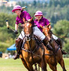 Jessica Wales of the Okanagan Polo Club