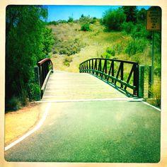 Shady Canyon Run & Bike Trail Irvine, CA - Ag hoeveel  voetspore le tog hier...