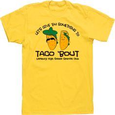 TACO SPANISH Spanish Club T-shirt Tee design
