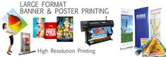 Large Format, Nerf, Poster Prints, Banner, Banner Stands, Banners