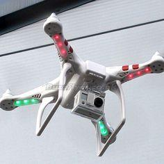 DJI Phantom test flight with Gopro camera