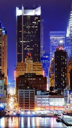 New York at Night, USA | Find Hotel Deals!