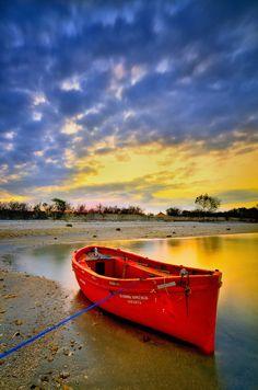 """red boat"" by herry suwondo, via 500px."