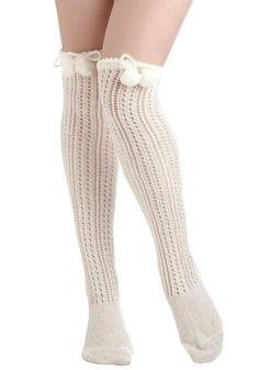 Toasty Marshmallow Socks . he he.