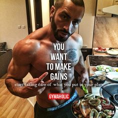 Start taking care of what you put in your plate.  Lazar Angelov