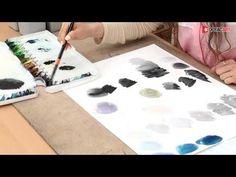 입시미술학원,사과수채화오늘미술학원, 돈암동 그루터기 미술학원 - YouTube