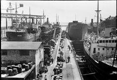 Helsingør Skibsværft hvor der er fuldt booket op med skibe til reparation og nybygning