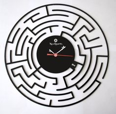 labyrinth clock