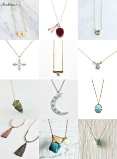 Blissful Gifts: Necklaces & Earrings - Bliss