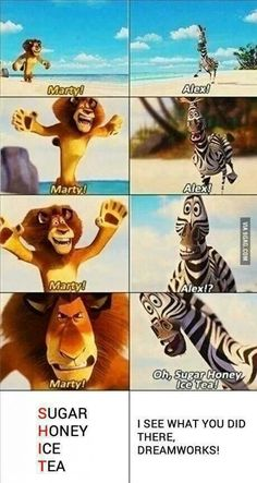 I see what you did there,dreamworks!- Oh my gosh, I always wondered why they had him say that! LOL
