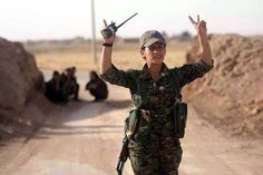 kurdish women fighters