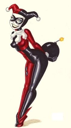 harley quinn easy drawing - Google Search