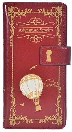 Shagwear Women's Large Zipper Wallet Adventure Stories Re... https://www.amazon.com/dp/B0178HQYCU/ref=cm_sw_r_pi_dp_i-CFxbA3RXKDE