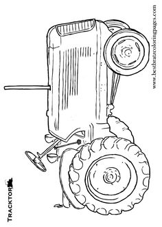 free printable tractor coloring pages for kids - Tractor Coloring Pages Printable