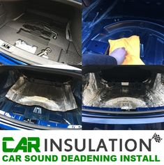 car sound deadening boot install Car Sounds, Insulation Materials, Fit Car, Sound Proofing, Car Manufacturers, Used Cars, Boat, Camping, Campsite