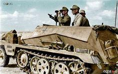 General der Panzertruppen Ulrich Kleemann, 90.Leichte Afrika Division - Sd.Kfz.250/1 - El Alamein, Egypt '42