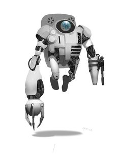 MegaMind silly robots! by Dermot Power, via Behance
