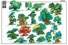 tree concept art - Recherche Google