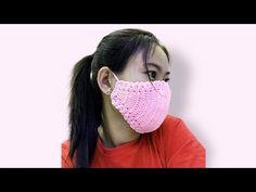 Corona Anti-Virus Face Mask Crochet A Face Mask – Face Mask – Corona Mask Crochet Mask, Crochet Faces, Crochet Wool, Love Crochet, Crochet Doilies, Knitting Patterns, Crochet Patterns, Crochet Christmas Decorations, Neck Pillow Travel