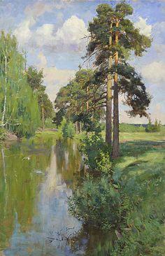 STANISLAV BABYUK (1970)Pond in Bogorodskoye, 2004