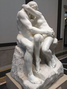 The Kiss is an 1882 marble sculpture by the French sculptor Auguste Rodin