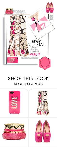 """""""Edgy Minimal"""" by emcf3548 ❤ liked on Polyvore featuring RED Valentino, 2b bebe, Giuseppe Zanotti, Geometrie and Tt Collection"""