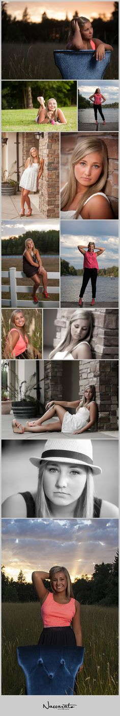 Abbie's Senior Pictures | Oregon City High School.  Poses for Senior Girls. Naccarato Photography.