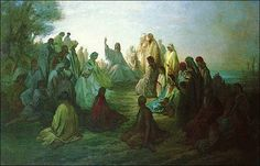 Jesus teaching with parables.