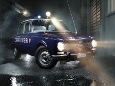 Criminals beware! The 1971 Alfa Romeo Giulia 1300 Super 'Carabinieri' meant serious business.