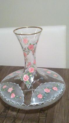 cam boyama hand painted art glass haliş(halime sahin)