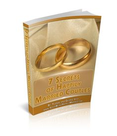 "Do you know why some #marriages end up in #divorce, while others live happily ever after?    Get the answer Free in ""Seven Secrets of Happily Married Couples.""    www.ILoveBeingHappilyMarried.com"