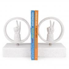 Modern Pottery | Peace Decorative Porcelain Sculpture | Jonathan Adler