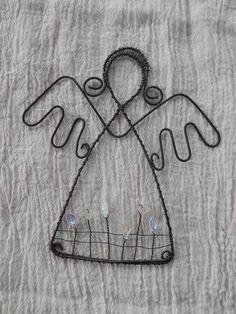 andílek - v ledové zahrádce