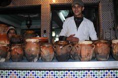 Tangias in Marrakech market