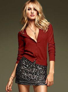 VS - Sequin Miniskirt