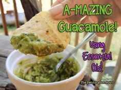 I could eat guacamole everyday! Try this recipe with from Young Living 3 ripe avocados cup dried onions cup chopped tomatoes cup chopped cilantro Garlic powder to taste drops of Young Living's Lime oil drops of Young Living's Orange oil Mix and indulge! Healthy Potluck, Healthy Foods, Healthy Recipes, Cooking With Essential Oils, Doterra Recipes, Guacamole Recipe, Recipe Using, Young Living, So Little Time