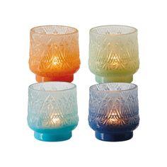 Flower Power Tealight Holders - Set of 4