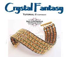Tutorial Crystal Fantasy Bracelet