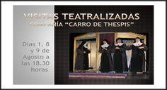1,8 y 9 de Agosto. Visitas teatralizadas Medina de Pomar 18:30h Monasterio de Santa Clara Las Merindades